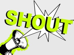 Logo - Shout Amy Lambourne